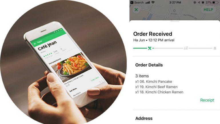 commande en ligne grab food